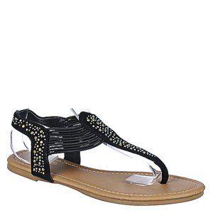 top moda black sandels new in box